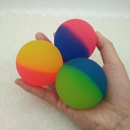 5.5cm Double-color Rubber Bouncing Bouncy Balls Jumping Outd