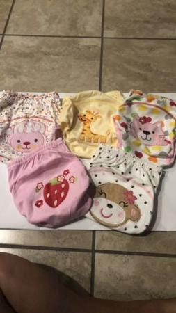 5 Pair Toddler Girls Washable Terry Cloth Potty Training Und