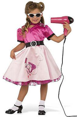50's Diners Beauty School Girl Child Costume