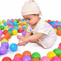 500 pcs Baby Kid Pit Toy Game Swim Pool Soft Plastic Ocean B