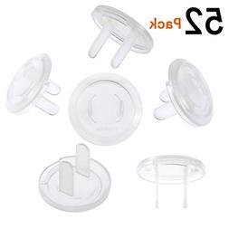 52 Pack Outlet Covers Child Baby Proof Electrical Plug Prote