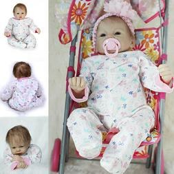 55cm GIFT Reborn Girl Doll Cute Baby Dolls Toddler Toy Silic