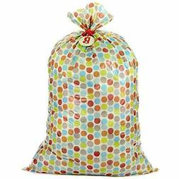 56&quot Large Plastic Gift Bag  Showers, New And