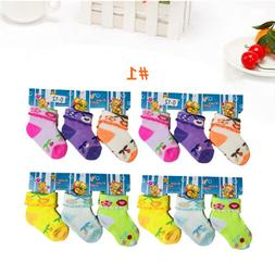6-12 Pairs Cute Newborn Baby Toddler Girls Cotton Soft Ankle