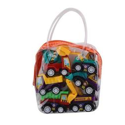 6 Pcs Lightweight Baby Cartoon Toy Car Early Education Toy F