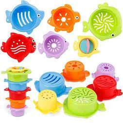 6 Pcs/Set Baby Bath Toys Kids Animal Float Toy Water Kids An