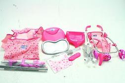 Chicco 63963 3 Piece Mega Baby Doll Play Furniture Set w Str
