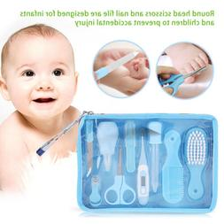 6Pcs/9Pcs Newborn Baby Nail Hair Health Care Set Thermometer