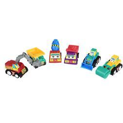 6PCS/Set Baby Kids Cute Twist Forward Movement Engineering C