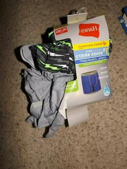 Hanes 7 pack boys boxer briefs size XL  many colors