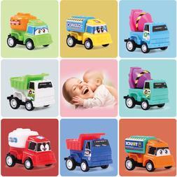 8pcs/Set Pull Back Car Toy Mini cars Cartoon Kids Toys For C