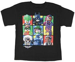 Boys DC Comics Lego Batman Movie Character Blocks Black Grap