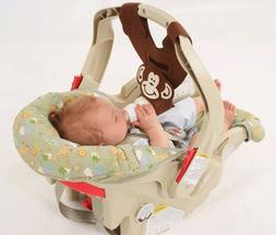 Brown Monkey Baby Bottle Holder for Hands Free Bottle Feedin