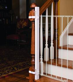 """EZ-Fit: 42"""" Baby Gate Walk Thru Adapter Kit for Stairs + Chi"""