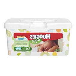 Huggies Natural Care Unscented Baby Wipes Tub - 64ct