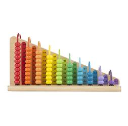 Melissa & Doug Add & Subtract Abacus - Educational Toy With