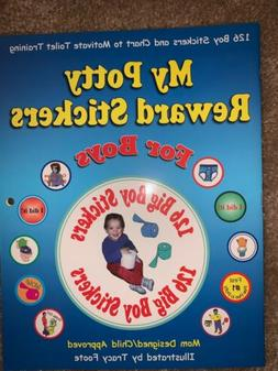 My Potty Reward Stickers for Boys: 126 Boy Potty Training St