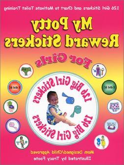 My Potty Reward Stickers for Girls: 126 Girl Potty Training