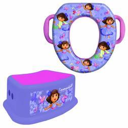 Nickelodeon Dora The Explorer Potty Training Combo Kit - Con