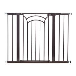 Safety 1st Décor Easy Install Tall & Wide Baby Gate with Pr