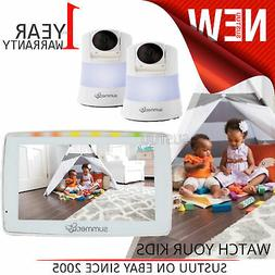 """Summer Infant Wide View Duo 5"""" Monitor │Remote Pan,Tilt &"""