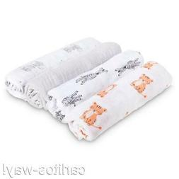 Aden by aden + anais Swaddleplus Baby Swaddle Blanket 100% C