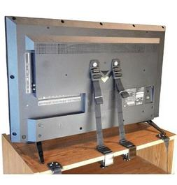 Adjustable Anti-Tip Furniture Anchor Set. 8 PC Baby Safety W
