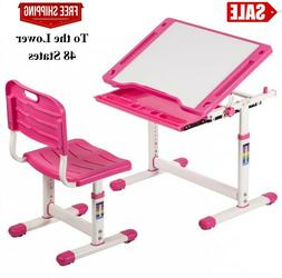 Height Adjustable Multifunctional Children's Study Desk Tabl