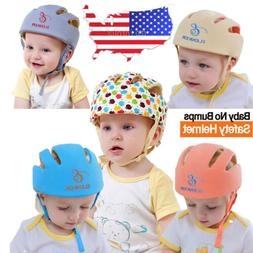 Adjustable Baby Toddler Safety Helmet Headguard Cap Protecti