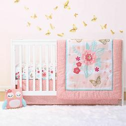 aflutter butterfly flowers baby crib