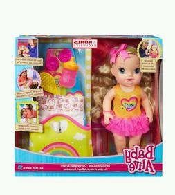 Baby Alive Exclusive Release Darcis Dance Class Blonde Doll