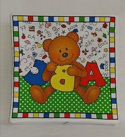 Alpha-Bears ABC - Soft Cloth Books for Baby, Children, Boys,
