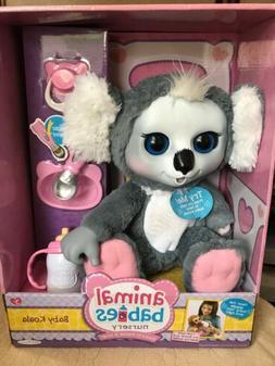 "Animal Babies Nursery BABY KOALA Bear 16"" Plush Jakks Pacifi"