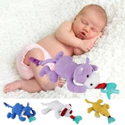 Animals Baby Nipple Toys Pacifier Lovely Stuffed Clips Feedi