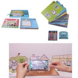 AR Education Card Preschool Educational Toys Game w/ Drawing