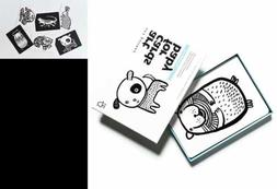 Art Cards For Baby BLACK & WHITE 0–12 Months Pets Collecti