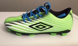 Umbro  Arturo 2.0 Youth Boys Soccer Cleats Size 1. Green & B
