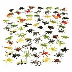Assorted Color And Design Insect Bug Toys 72 Pieces Colorful