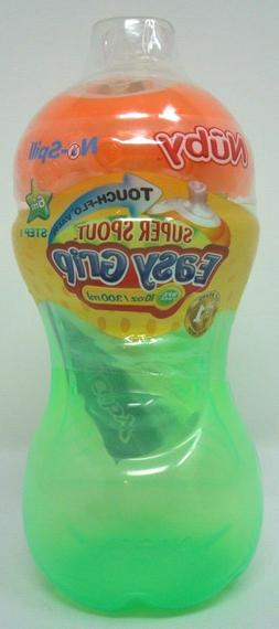 Baby 6 months Feeding Anti Spill Cup Nuby Super Spout Easy G