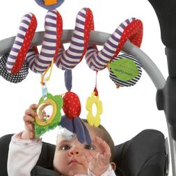 Baby Activity Spiral Crib Stroller Car Seat Travel Hanging T