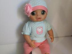 Baby Alive As Real As Can Be Doll Clothes 3Pc OWL Outfit