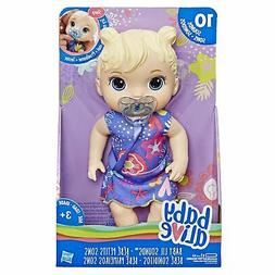 Baby Alive Baby Lil Sounds: Interactive Blonde Hair Baby Dol
