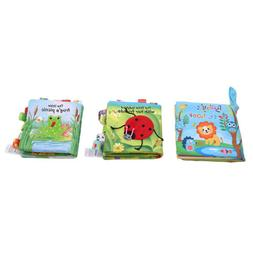 Baby Animal Book Cloth Baby  Infant Educational Toys Learnin