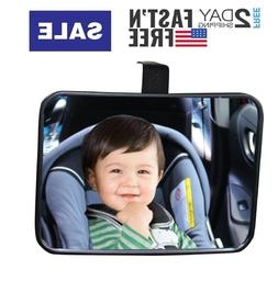 Baby Backseat Mirror for Car View Infant in Rear Facing Car
