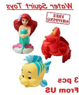 Baby Bath Squirt Toys Ariel Little Mermaid Cake Topper Birth