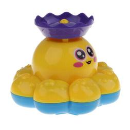 Baby Bath Toys for Kids - Electronic Spray Water Octopus Bat