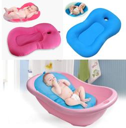 Baby Bath Tub Pillow Pad Lounger Air Cushion Newborn Shower