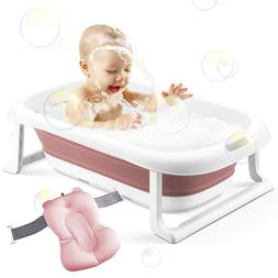 Baby Bath Tub Portable Toddler Collapsible Bathtub Infant Sh