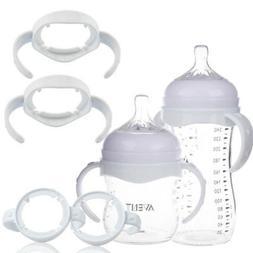 Baby Bottle Infant Grip Handle Holder For Avent Natural Wide