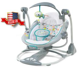 Baby Bouncer Swing Chair Rocker Toys Vibration Unisex Boy Gi